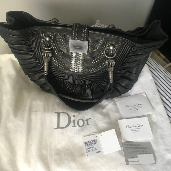 3eeee3e51d Dior Bags | Authentic Vintage Black Christian Bag | Poshmark